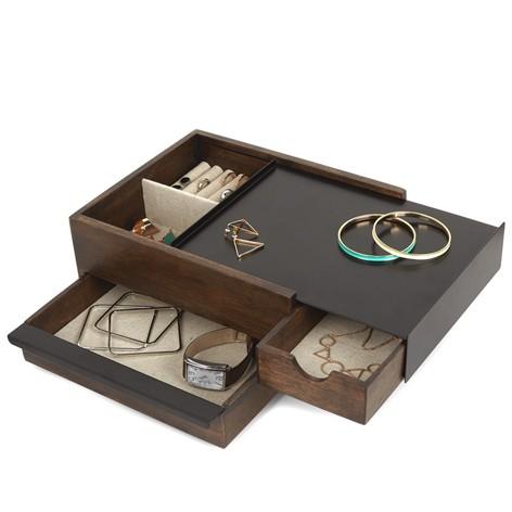 Umbra Stowit Mini Wooden Storage Box