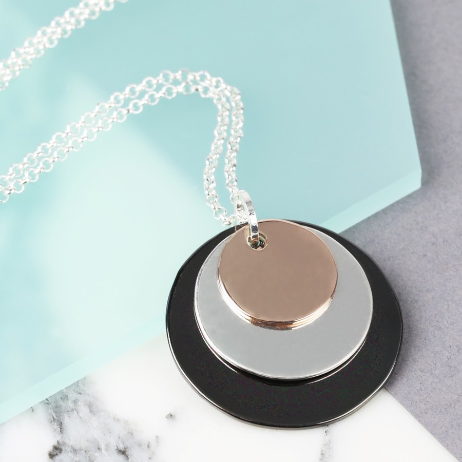 product plated ash image products disc tiny rose kirstin gold necklace