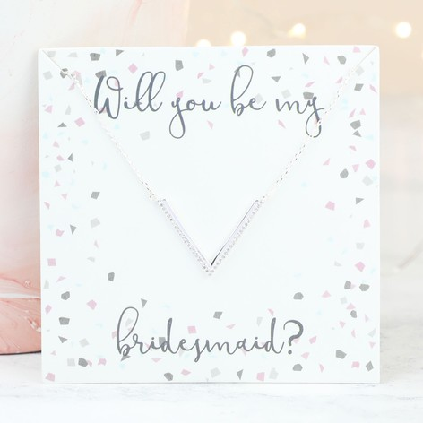 bridesmaid round cream pearl bridal swarovski white eight drop set of necklace wedding or initial pin gift jewelry