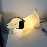 Disaster Designs Hot Dog Lamp