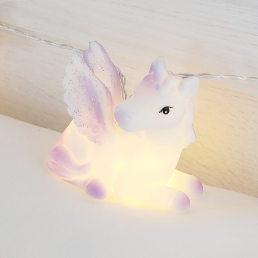 finest selection ab106 5b676 House of Disaster Glittery Unicorn String Lights