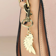 Lisa Angel Estella Bartlett Gold Wing Key & Bag Charm