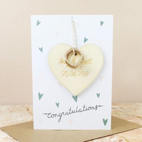 Congratulations wedding greetings card lisa angel congratulations wedding decoration greetings card m4hsunfo
