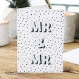 Lisa Angel 'Mr and Mr' Wedding Card