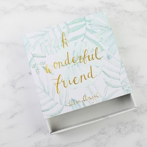 Botanical 'A Wonderful Friend' Gift Box