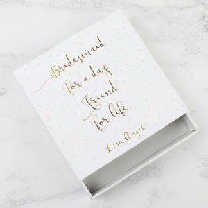 Confetti 'Bridesmaid For a Day' Gift Box