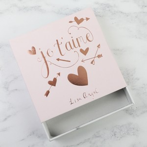 Pink 'Je T'aime' Gift Box