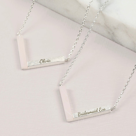 il gift silver chief necklace products made fullxfull heart bridesmaid jewellery statement