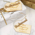 Lisa Angel Personalised 'Bridesmaid' Gift Tags