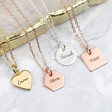 Lisa Angel Ladies' Personalised Charm Necklace