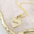 Ladies' Personalised Heart Charm Necklace