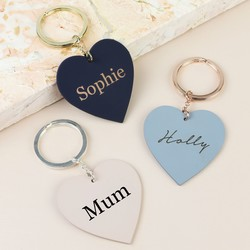 Keyrings | Personalised & Engraved Keyrings | Lisa Angel