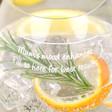 Engraved 'Mums Mood Enhancer' Glass Tumbler