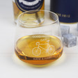 Lisa Angel Engraved Personalised 'Wheely Good Father's Day' Whiskey Glass