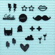 Lisa Angel Fun Quirky Felt Letter Board Symbols Pack