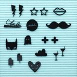 Felt Letter Board Symbols Pack
