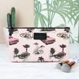 Lisa Angel Ladies' Personalised Pink Cadillac Make Up Bag
