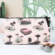 Teens Pink Cadillac Make Up Bag