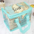 Lisa Angel Personalised Sass & Belle Map Print Lunch Bag