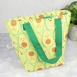 Lisa Angel Sass & Belle Happy Avocado Lunch Tote Bag