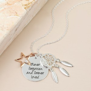 Never Forgotten Silver Necklace