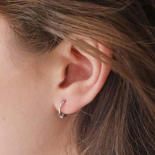 bee45b7e7 Hypoallergenic Small Bead Hoop Earrings | Lisa Angel Jewellery