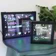 Lisa Angel Light Up Neon Message Frames