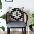 Lisa Angel Large Bold Woven Aztec Cushion