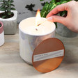 Lisa Angel Iridescent Glow Cotton & Teak Scented Candle