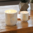 Lisa Angel with Paddywax Iridescent Glow Cotton & Teak Scented Candles
