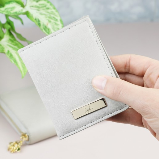 2a9c68f9c06a Ladies  Personalised Engraved Card Holder on Model