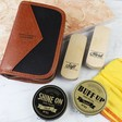 Men's Buff & Shine Shoe Polish Kit
