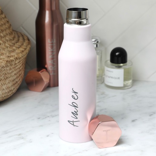 2767286a1b59 Ladies  Personalised Ted Baker Hexagonal Travel Bottle. Lisa Angel Font  Choices. Personalised ...