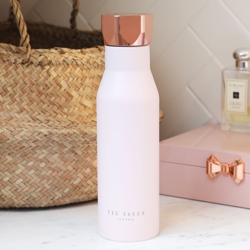 95c6d5345567f3 Lisa Angel with Ted Baker Hexagonal Travel Bottle in Pink Quartz