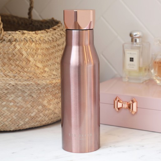 95f2a1f63bea Ted Baker Hexagonal Travel Bottle in Rose Gold
