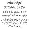 Lisa Angel Fad Script Font