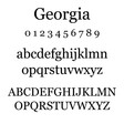 Lisa Angel Georgia Font