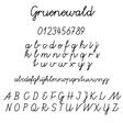 Lisa Angel Gruenewald Font