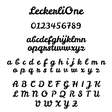 Lisa Angel LeckerliOne Font