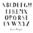 Lisa Angel Letter Font