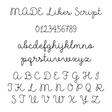 Lisa Angel MADE Likes Script Font