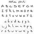 Lisa Angel Note Font