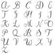 Lisa Angel Letter Charm Font