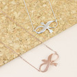 Lisa Angel Infinity Arrow Necklaces