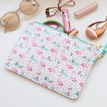 'Wild Thoughts' Flamingo Beauty Pouch