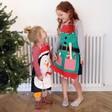 Lisa Angel Christmas Aprons for Children