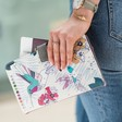 House of Disaster 'Colour Me' Hummingbird Travel Wallet