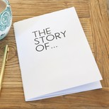 'The Story Of ' A5 Notebook