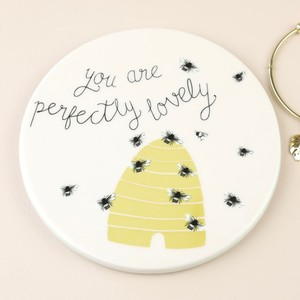 'You are Perfectly Lovely' Ceramic Coaster