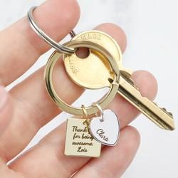 Keyrings | Personalised & Engraved Keyrings | Lisa Angel